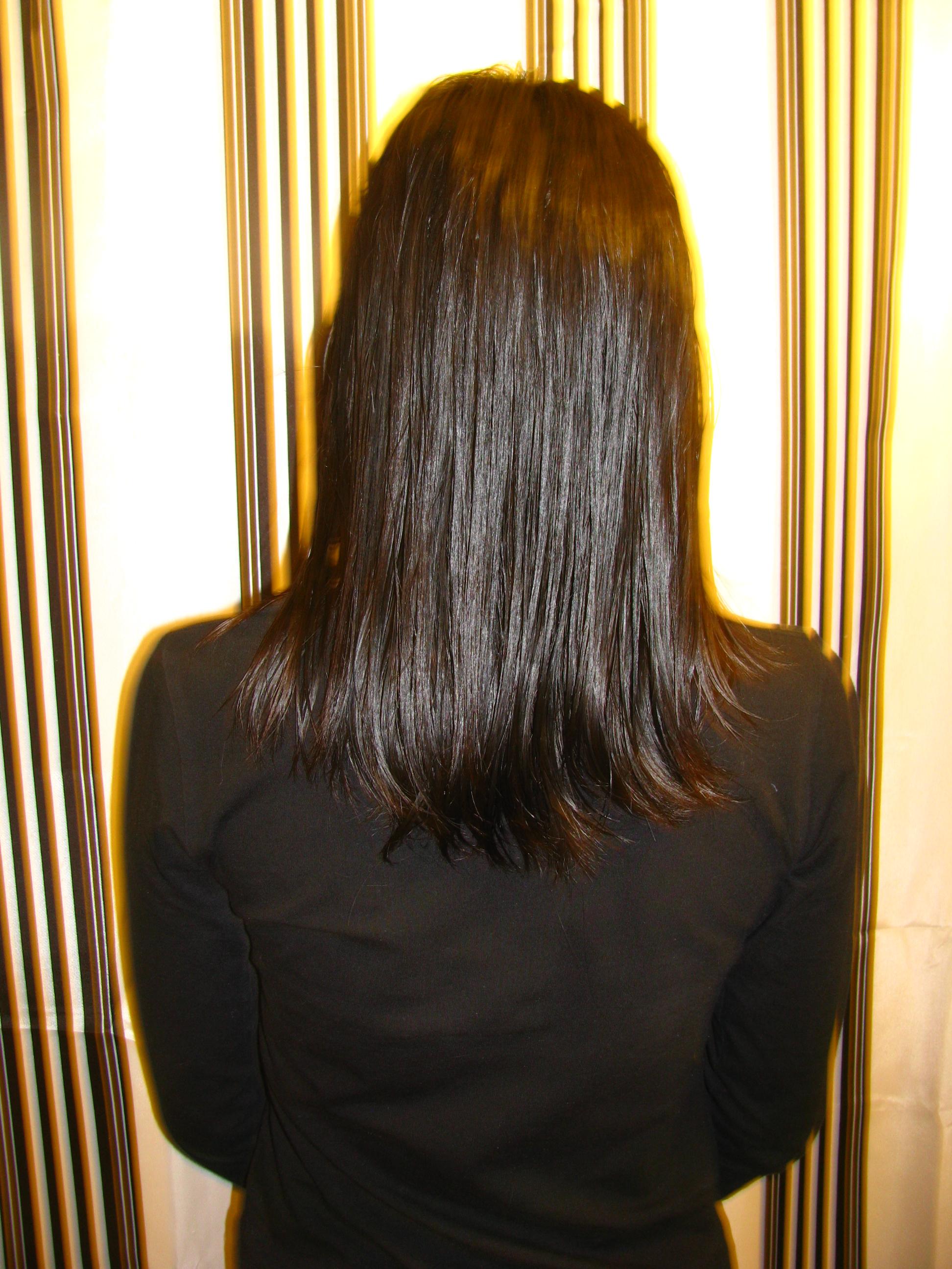 Como cortar el cabello solo las puntas