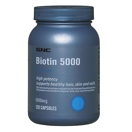 Biotina cabello gnc