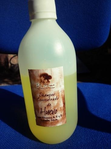 Shampoo de Huevo
